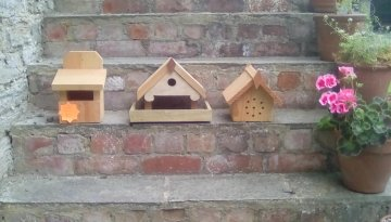 Bird Nesting Boxes and Bee Rests