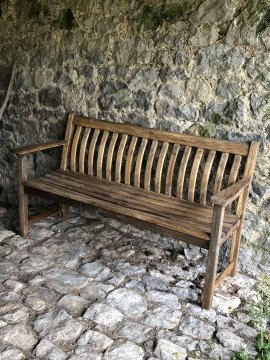 Garden Bench after Restoration